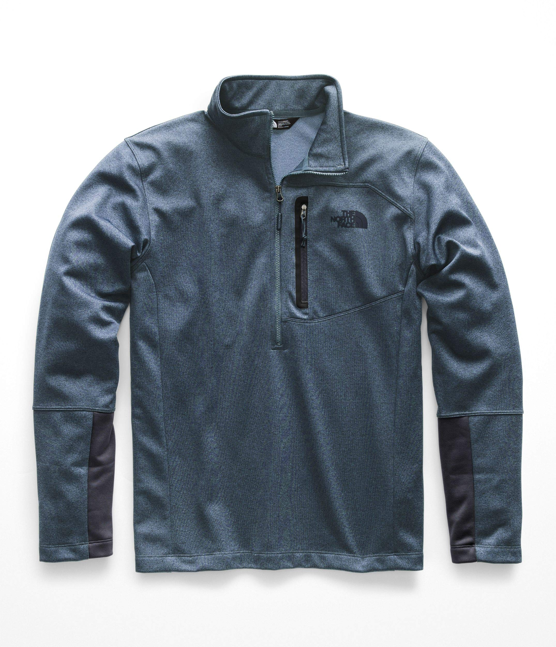 The North Face Men's Canyonlands Half Zip - Shady Blue Heather - M