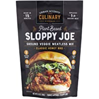 Urban Accents Sloppy Joe Plant Based Meatless Mix – Gluten Free Plant Based Protein & Seasoning Blend, 3-pack