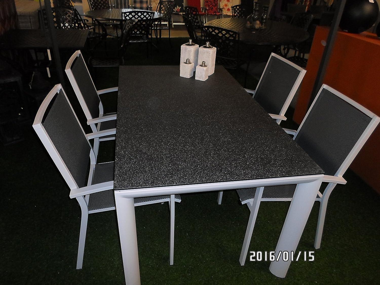 Gartentisch Kaffeetisch Esstisch Mojito Blanco 160 x 90 x 74 cm