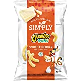 Cheetos Cheese Snacks, Simply White Cheddar Puffs, 8 oz