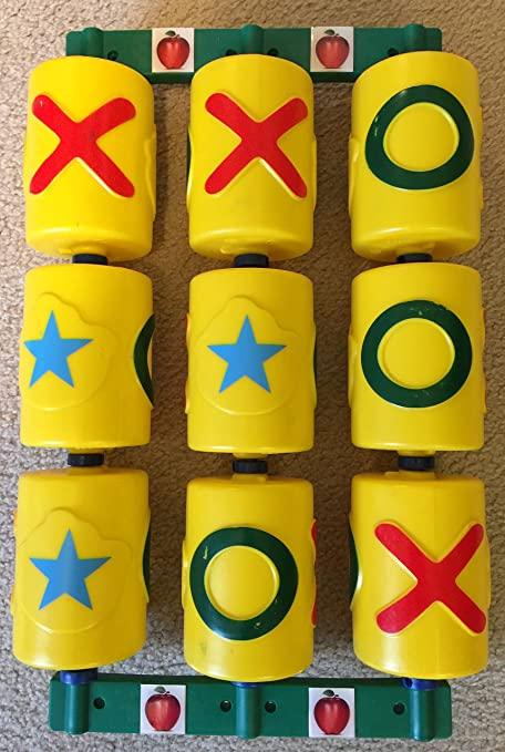 Amazon Com Swingset Tic Tac Toe Spinner Panel Toys Games