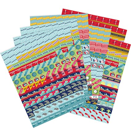 Paquete de Pegatinas para Agenda y Calendario de Boxclever ...