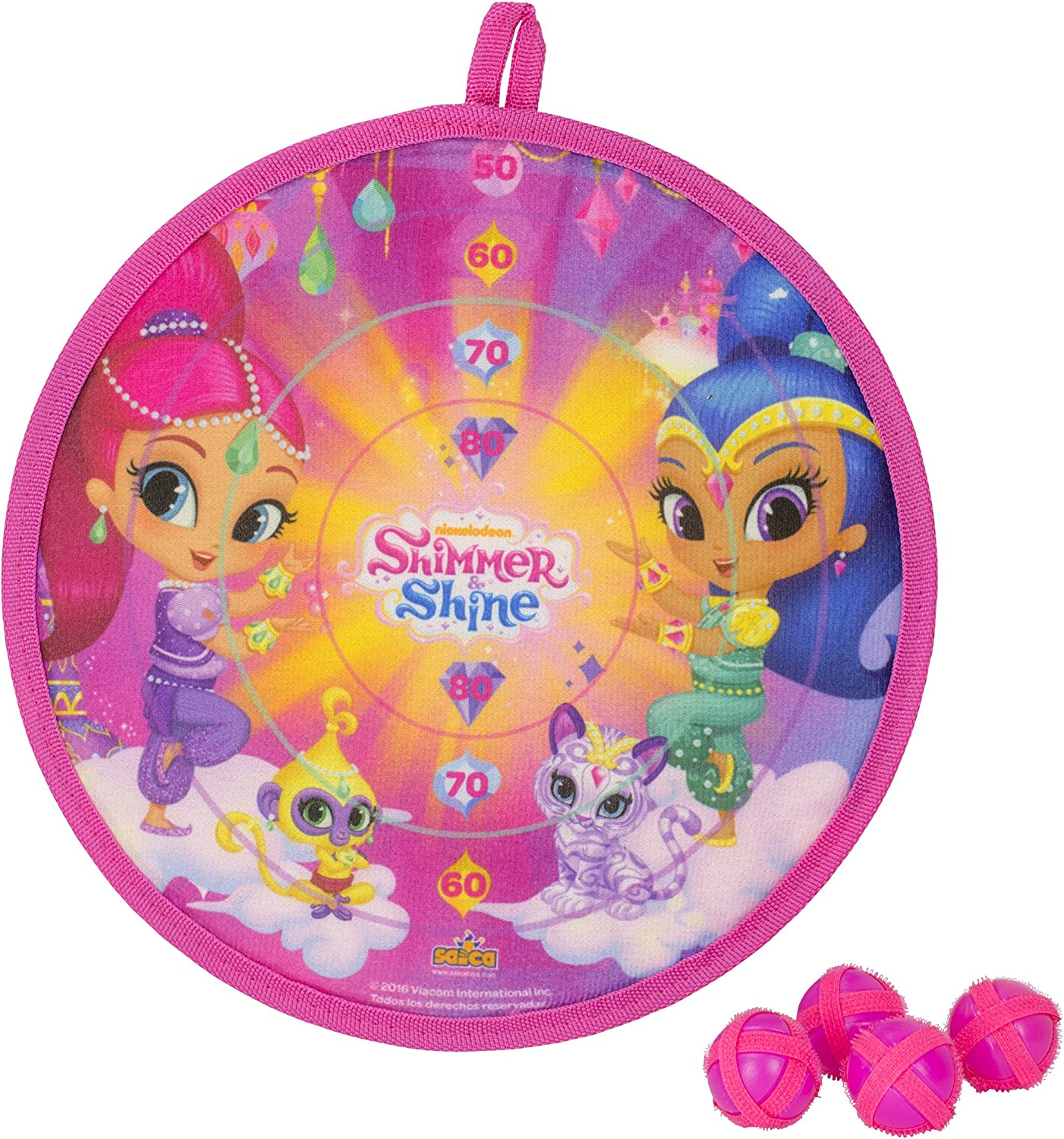 Shimmer And Shine - Set Diana de Velcro (Saica 2663): Amazon.es ...