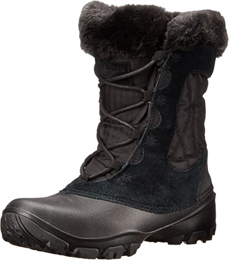 Columbia Women's Sierra Summette IV Snow Boot, Black, Grill, 8.5 B US