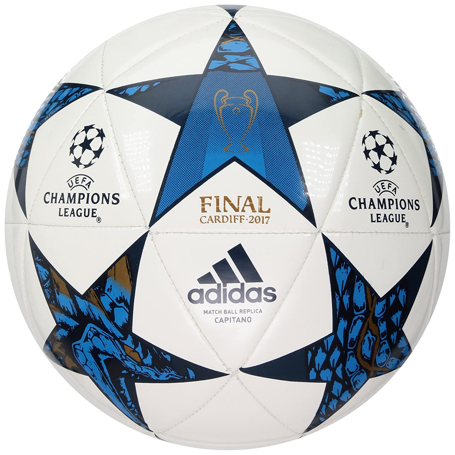 Amazon.com   adidas Performance Champions League Finale Capitano Soccer  Ball   Sports   Outdoors 857ffc45b281e
