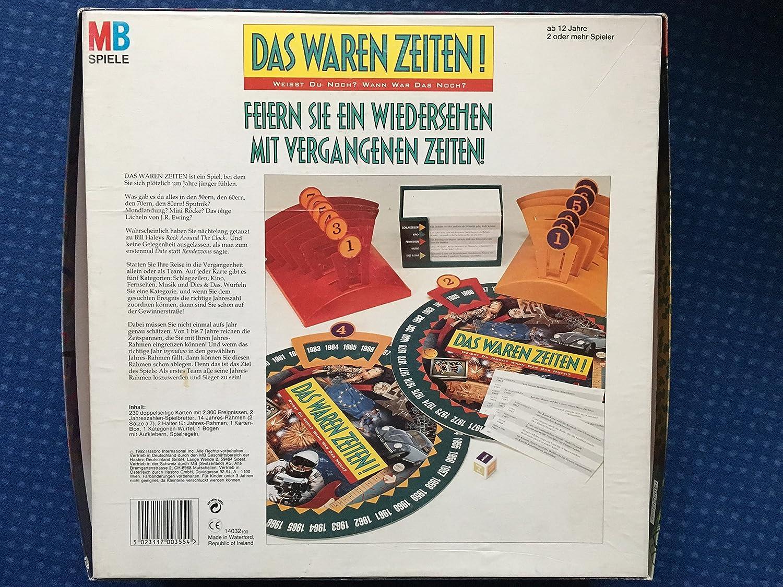MB Spiele 14032100 Das waren Zeiten: Amazon.de: Spielzeug