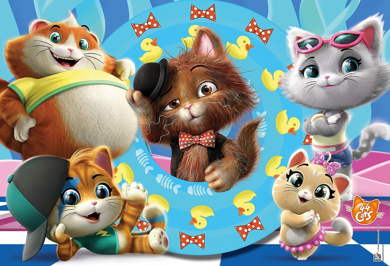 Clementoni 26441 60pc Maxi Puzzle-44 Cats 60pezzi 44 Gatti