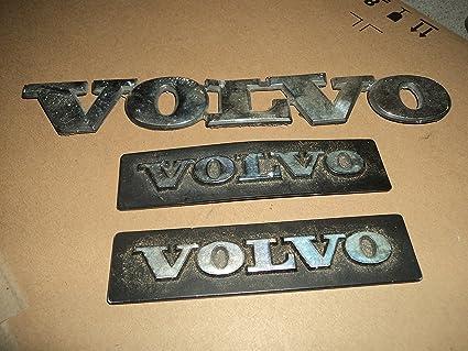 Amazon 87 90 Volvo Metal Trunk Emblem Badge Decal Logo Symbol