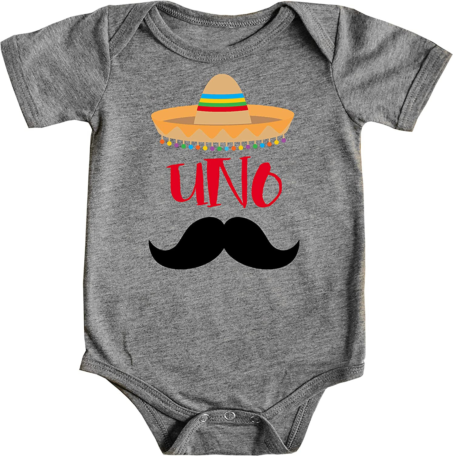 1st Birthday Uno Bodysuits Fiesta Themed First Birthday Sombrero Birthday Bodysuit Mustache Birthday Outfit for Baby Boy 91nTHzMOPfL
