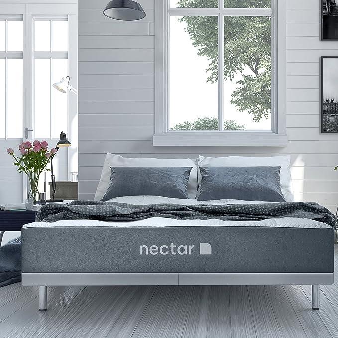 Nectar Calking Mattress + 2 Free Pillows