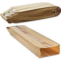 My Products - Bolsa de pan de papel kraft transpirable con ventana transparente que mantiene el pan fresco durante un…