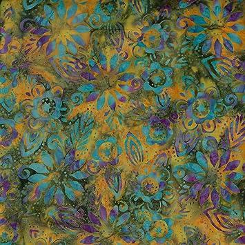 krbis flourish design 100 baumwolle bali batik tie dye muster stoff fr patchwork quilten - Batiken Muster
