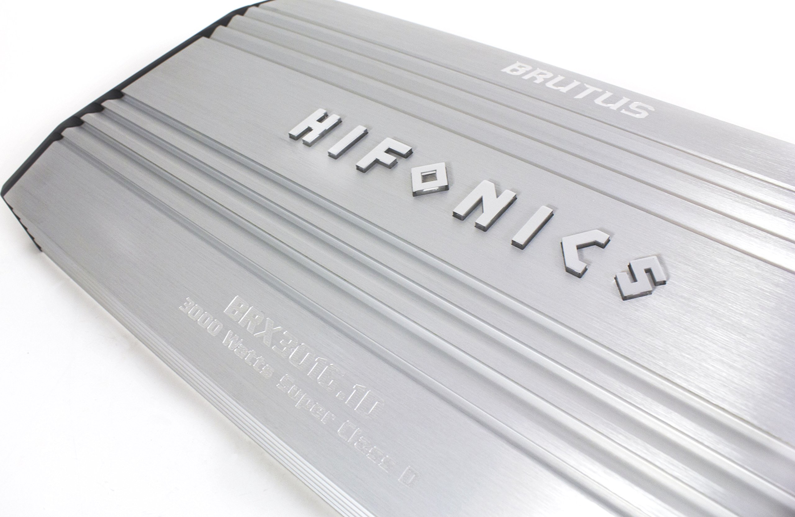 Hifonics BRX1516.1D Brutus Mono Super D-Class Subwoofer Amplifier, 1500-Watt by Hifonics