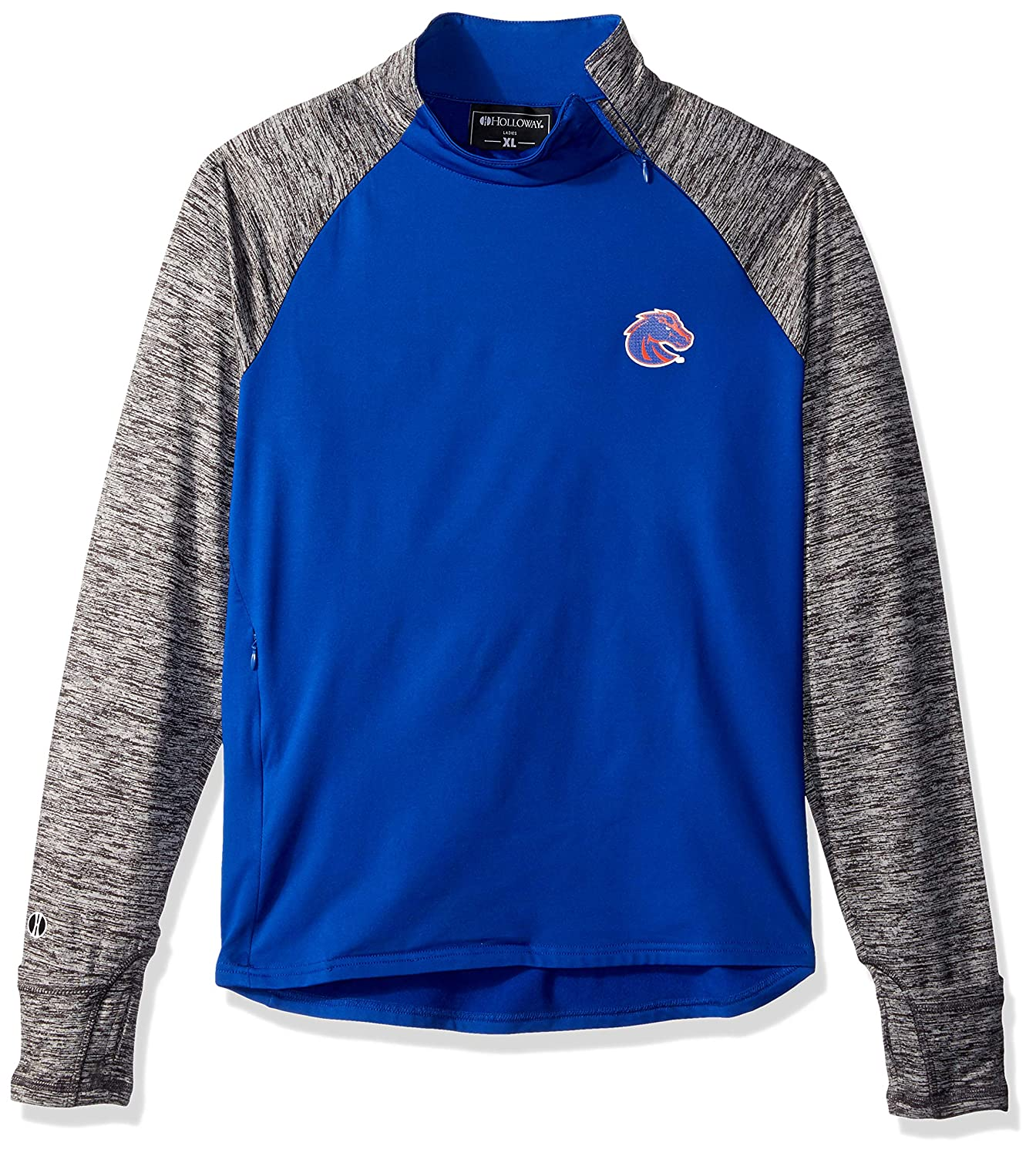 Ouray Sportswear NCAA Navy Womens Affirm Pullover Jacket