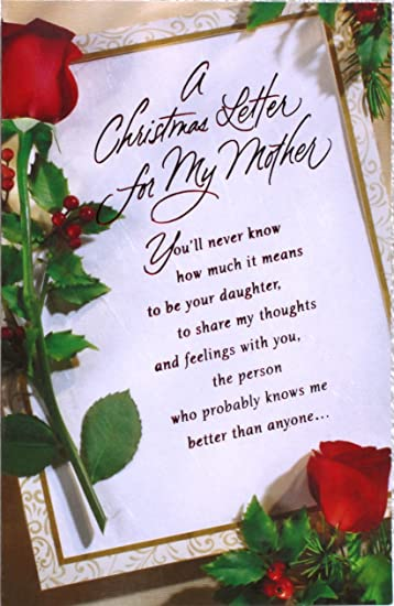 Daughter christmas card christmas card wonderful daughter 1st amazon christmas card mom from daughter a christmas letter m4hsunfo