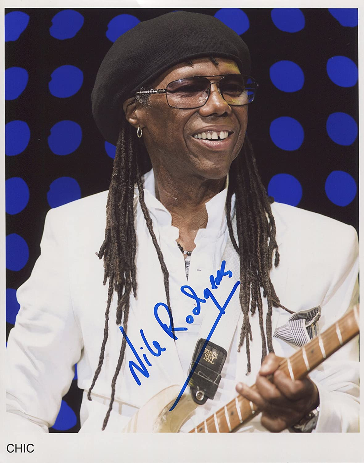 Nile Rodgers Chic SIGNED Photo 1st Generation PRINT Ltd 150 Certificate 2