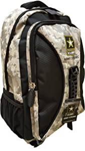 """US Army Camo 19"""" 2Compartment Laptop Backpack"""