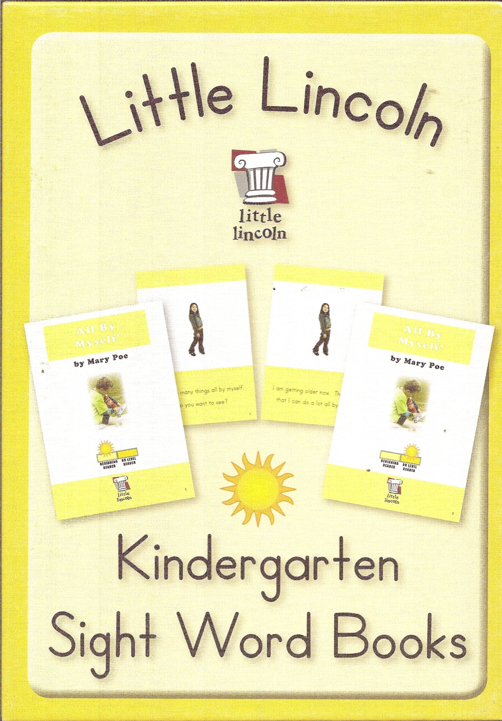 Little Lincoln Kindergarten Sight Word Books (Little Lincoln, Summer Box) PDF