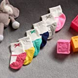 Carter's Baby Girls' Socks, Pack of 6