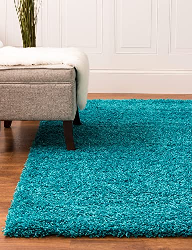 Super Area Rugs Solid Cozy Shag Rug