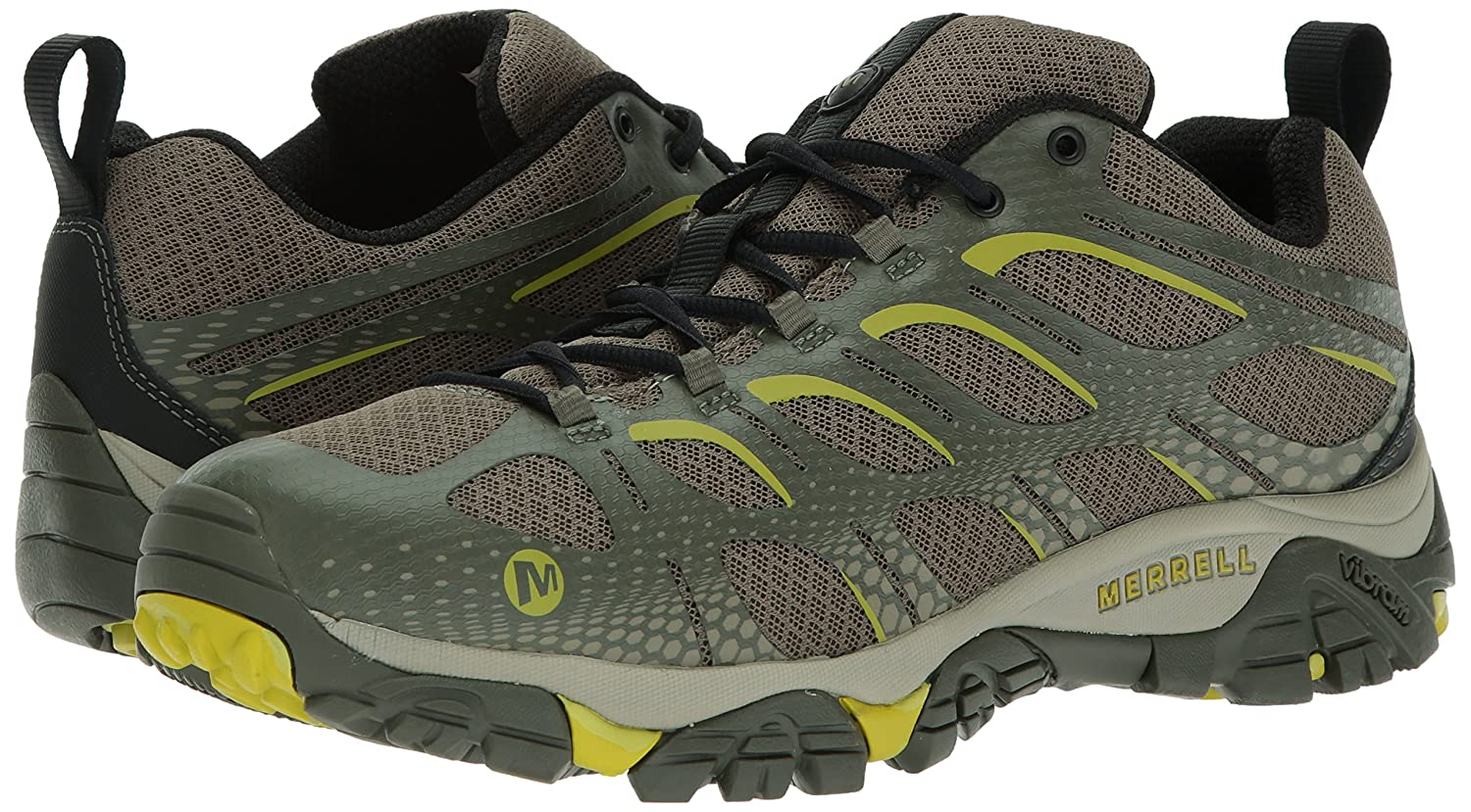 Merrell Merrell Merrell Men's Moab Edge Hiking schuhe, Dusty Olive, 9 M US 22782d