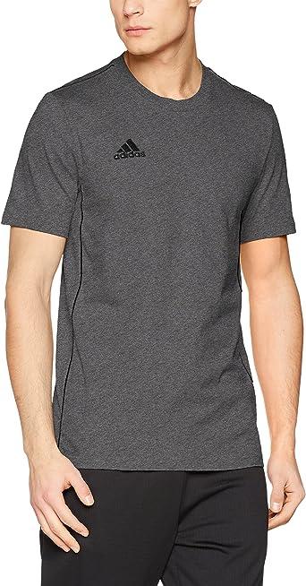 adidas Core18 tee Camiseta de Manga Corta, Hombre