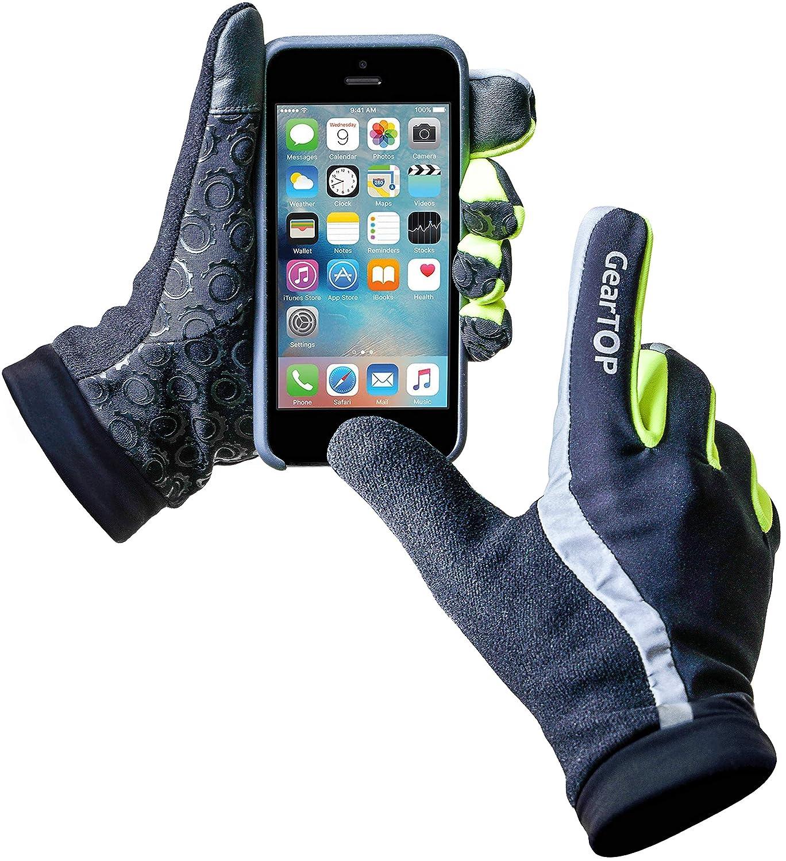 GearTOP Running Gloves Touch Screen Gloves for Men and Women