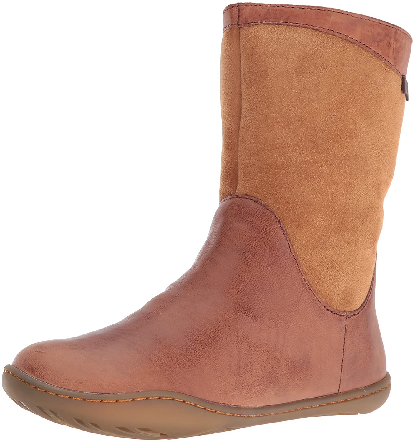 Camper Women's Peu Cami Boot B01B2EX7RA 40 M EU / 10 B(M) US|Brown