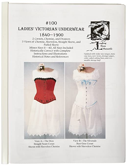 Guide to Victorian Civil War Costumes on a Budget Ladies Victorian Corset Underware $18.00 AT vintagedancer.com
