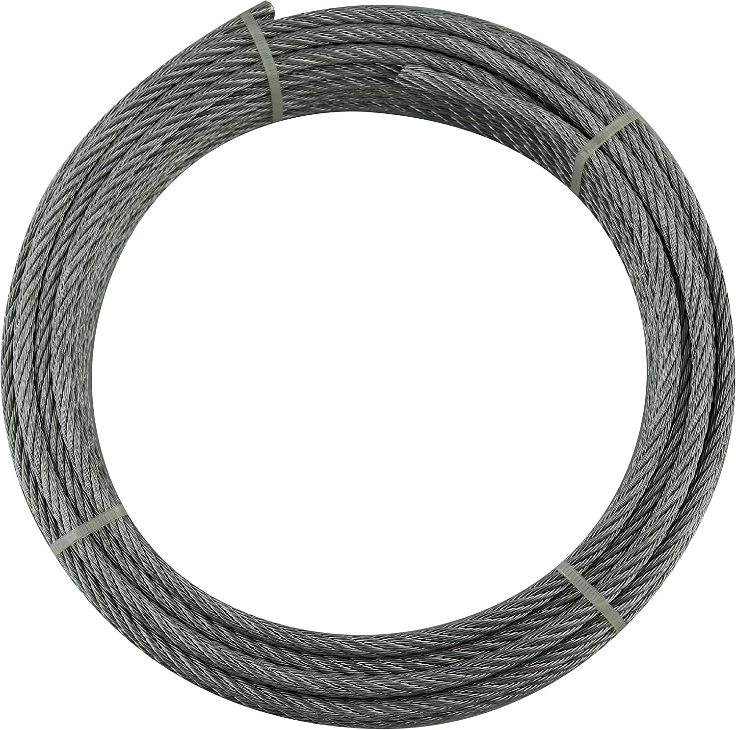 Cables and eslingas y10607r10003/ /Cable 6/x 7/+ 1/3/mm Rolle 100/m galvanised Steel ducting