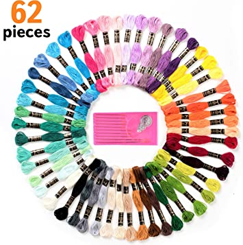 2 skeins for $.99 DMC® 6-Strand Embroidery Floss 454 Colors to choose from