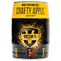 Victor's Drinks Crafty Apple Cider Make Your Own Barrel