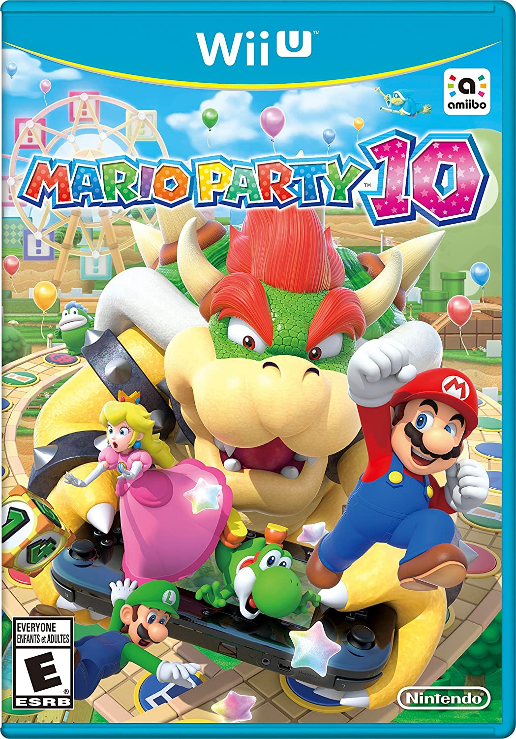 Amazon.com: Mario Party 10: Wii U: Nintendo of America ...