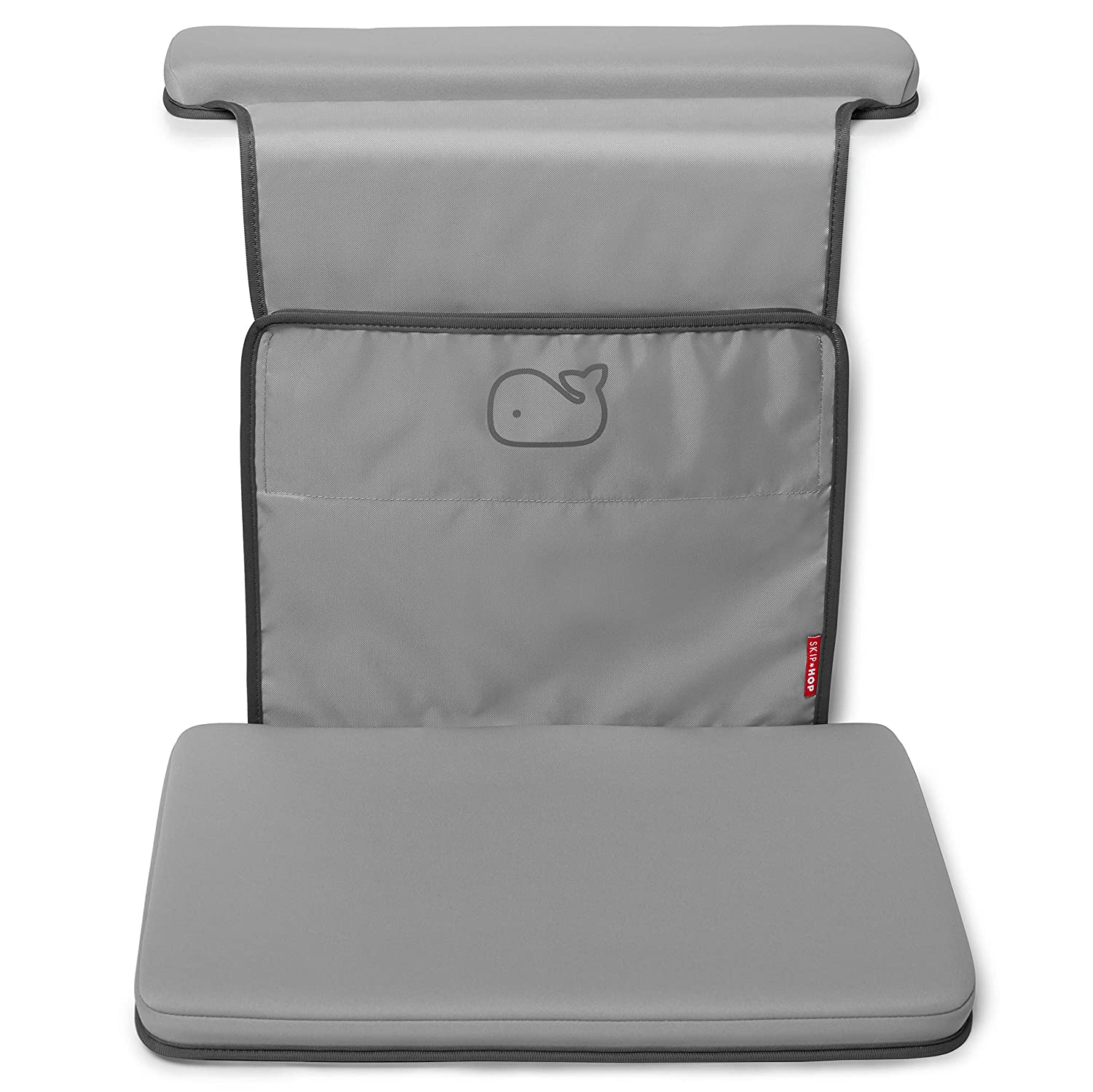 Skip Hop Moby Baby Bath Elbow Saver and Kneeler, Grey 235550