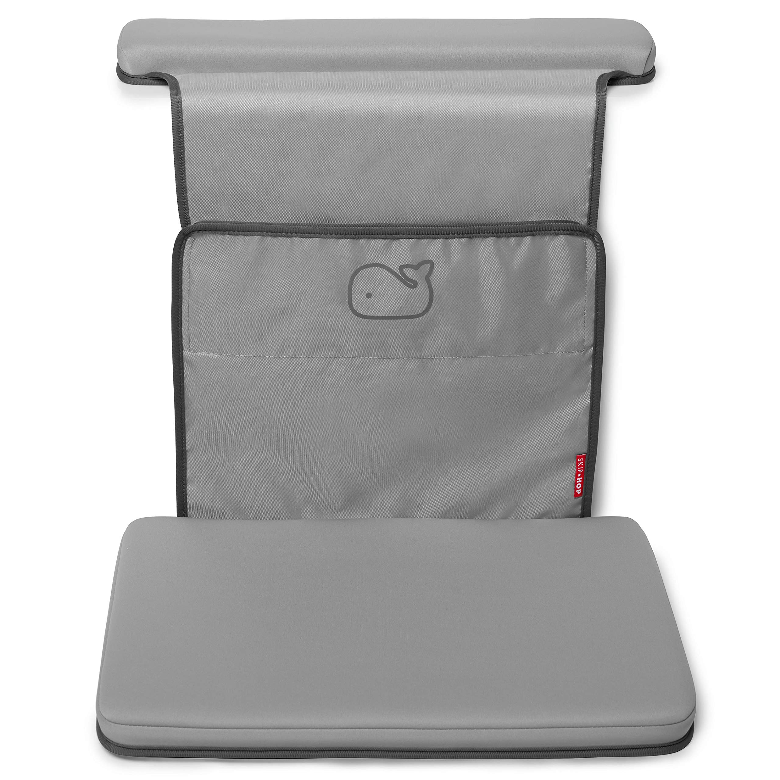 Skip Hop Moby Baby Bath Elbow Saver and Kneeler, Grey by Skip Hop
