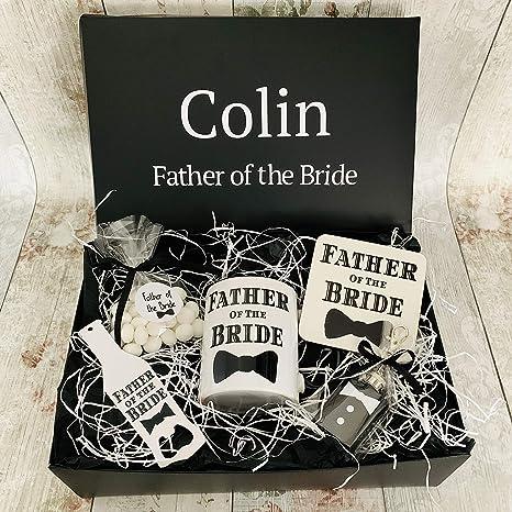 padre de la novia caja de regalo Hamper boda gracias ...
