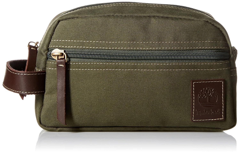 8e89d7b5b8a5 Amazon.com  Timberland Men s Toiletry Bag Canvas Travel Kit Organizer
