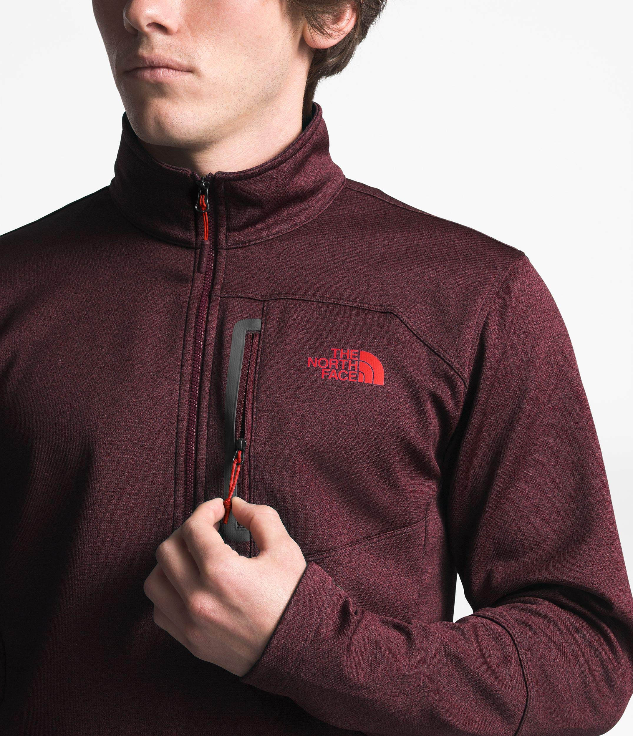 The North Face Men's Canyonlands Half Zip - Fig Heather - M