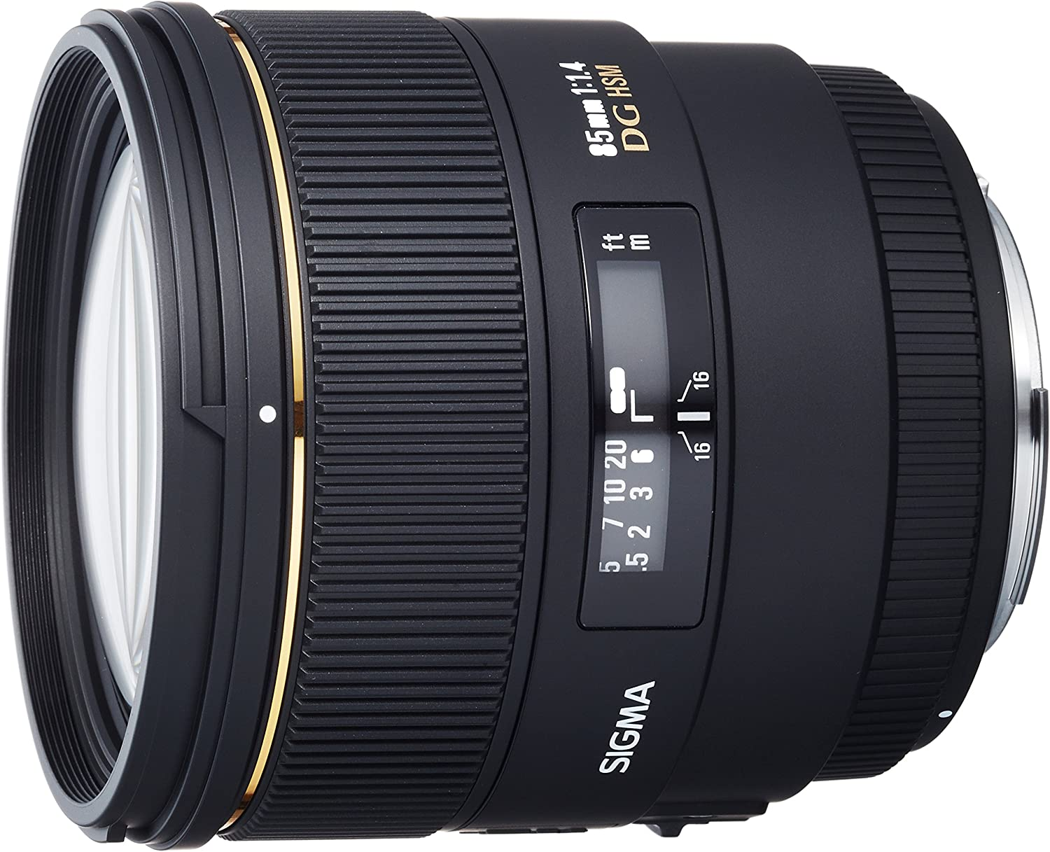 Sigma 85mm f/1.4 EX DG HSM Large Aperture Medium Telephoto Prime Lens for Canon Digital SLR Cameras