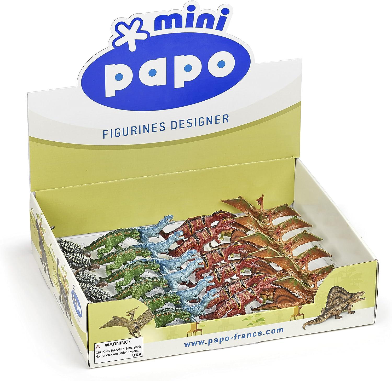 Papo Mini Dinosaur Figure KG 10330 C /& J Direct GmbH /& Co 36 Piece