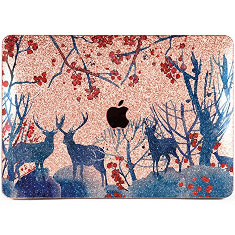 Lex Altern Glitter MacBook Case Pro 15 inch Air 13 11 12 2018 Shiny Blue Mac f017d05101