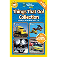 National Geographic Kids Readers: Things That Go Collection (National Geographic Kids Readers: Level 1 )
