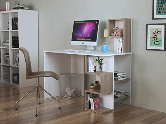 Deroni bureau computer workstation home office desk writing