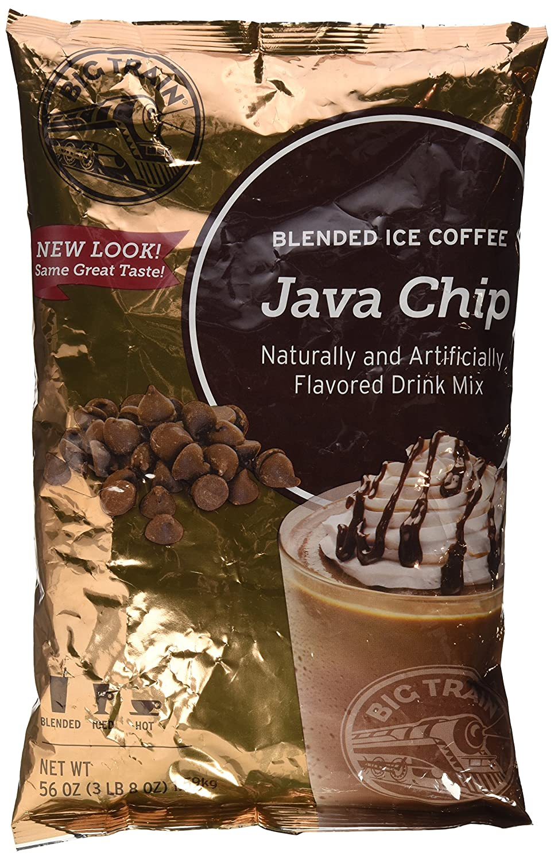 Amazon Big Train Java Chip 35 Lb Bulk Mocha Grocery Gourmet Food