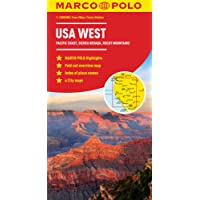 Marco Polo USA West: Pacific Coast, Sierra Nevada, Rocky Mountains