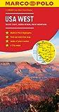 Marco Polo USA West: Pacific Coast, Sierra Nevada, Rocky Mountains