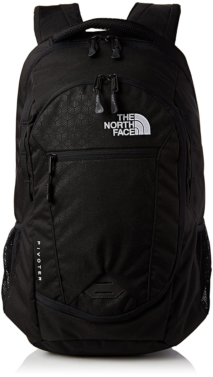 bf2776d0a17 The North Face Unisex Adult Pivoter Backpack, Black (Tnf Black), One Size:  Amazon.co.uk: Sports & Outdoors