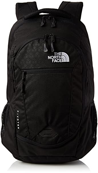 0195cbf9b361 Image Unavailable. Image not available for. Colour  The North Face Pivoter  Backpack TNF Black ...