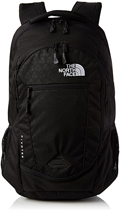 The North Face Mochila, Unisex Adulto, pivoter TNF Negro, Talla única