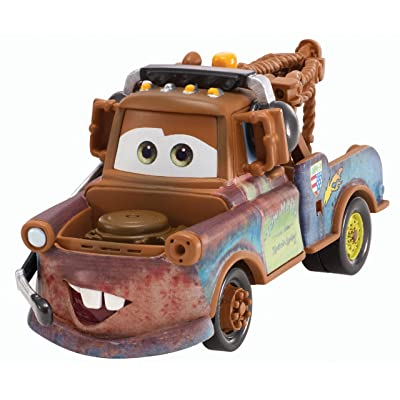 Disney Pixar Cars Mater with Headset Diecast Vehicle: Toys & Games